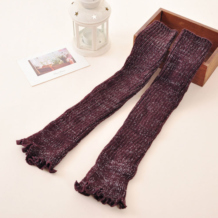 Knitting Pattern For Ladies Leg Warmers : Womens knit leg warmers china leggings