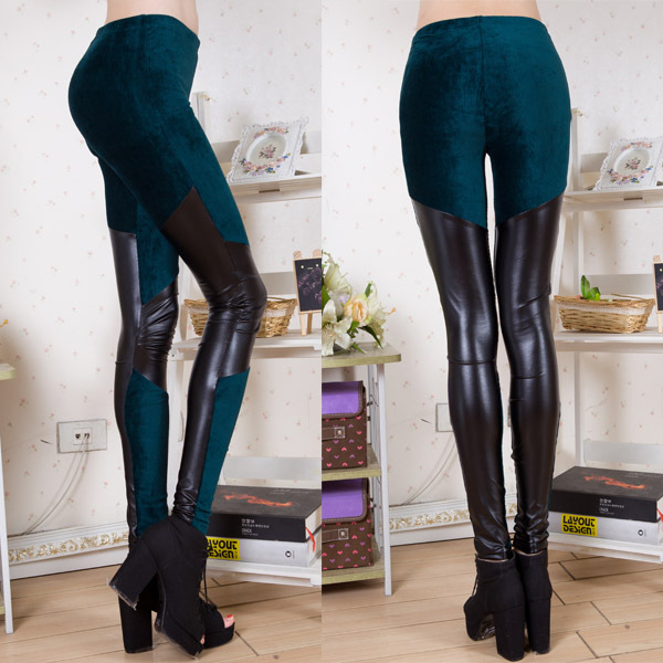Corduroy leggings women