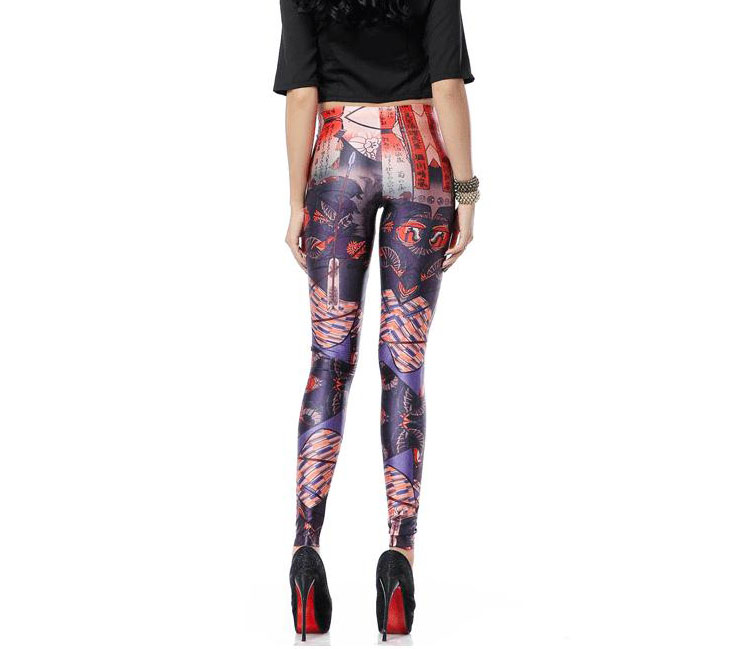 People of color paintings printed leggings wholesale