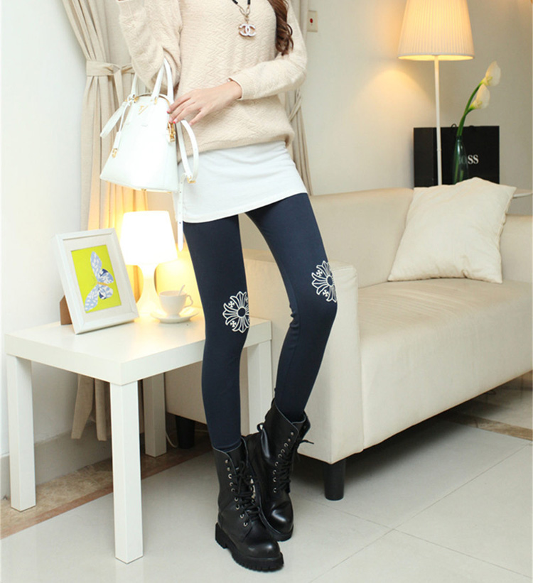 Corduroy beige leggings