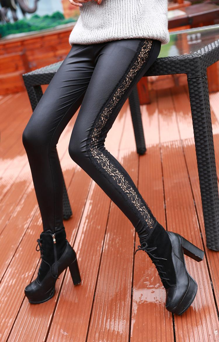 Wholesale leather leggings from bulk leggings supplier, Our wholesale leggings made with quality and sold at the cheapest prices online. Buy stylish leather leggings in solid black and dark colors at wholesale for women and chic fashion.