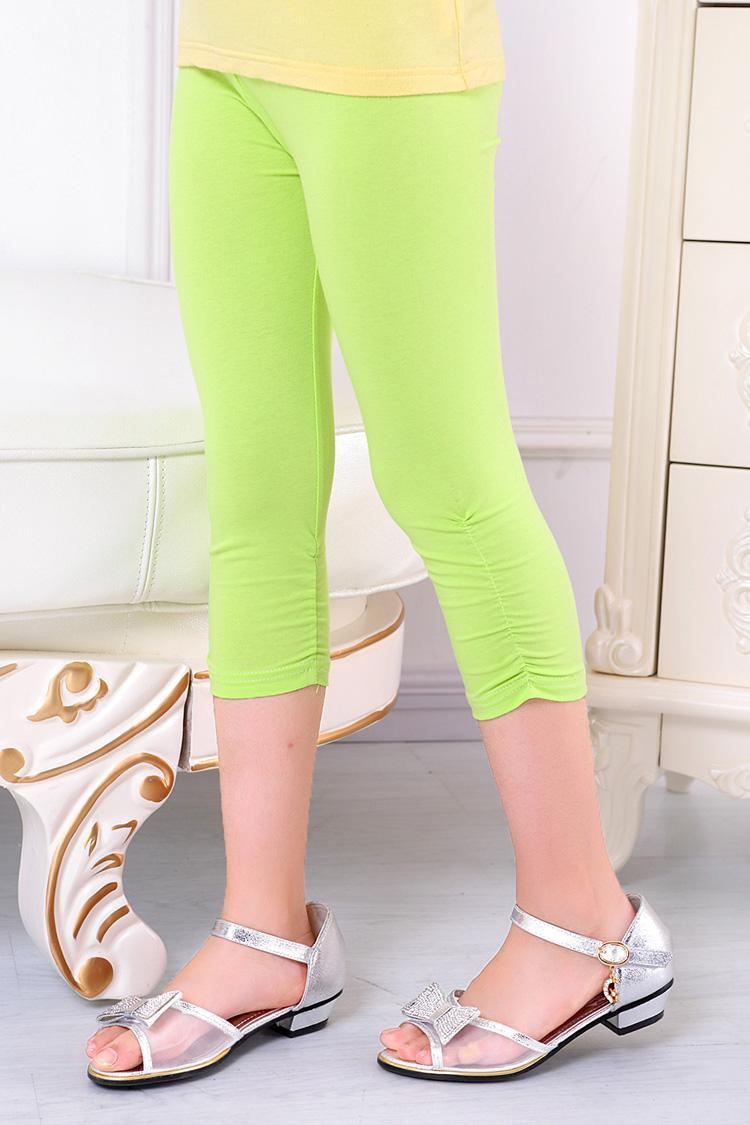 Wholesale girls cropped leggings china leggings