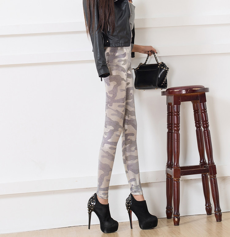 Wholesale leather stitching pants leggings
