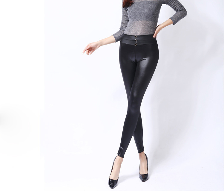 Ladies leather leggings wholesale