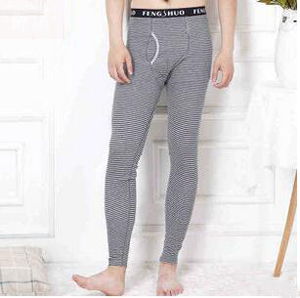 Man thin single line four color stripe pants leggings wholesale