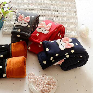 Girls carton pattern infant child leggings wholesale