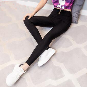 Female velvet high waist tight big yards pant wholesale