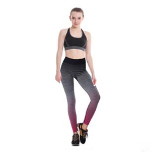 Comfortable stretch tight gradient nine minutes pants wholesale