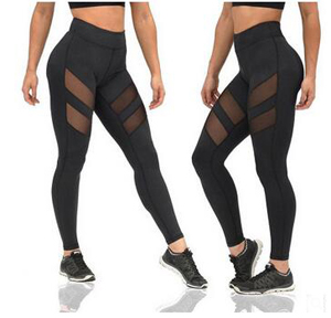 Hollow out splicing air movement leggings wholesale