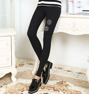 Wholesale rhinestone leggings pants