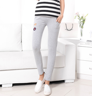 Maternity cotton stretch leggings