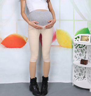 Maternity summer leggings