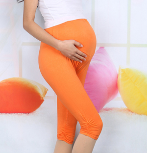Cotton maternity leggings for sale