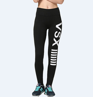 Lycra fitness leggings