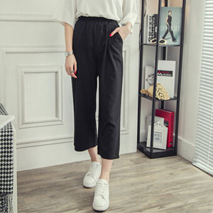 Spring and summer leisure straight female flares wholesale