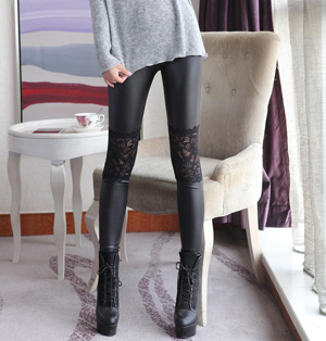 Wholesale slim leather pants