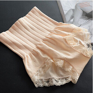 Seamless high waist belly lace female model body underwear wholesale