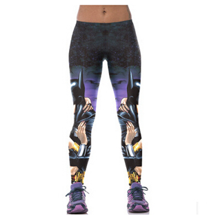 3d digital printing female sports fitness yoga leggings wholesale factory direct sale
