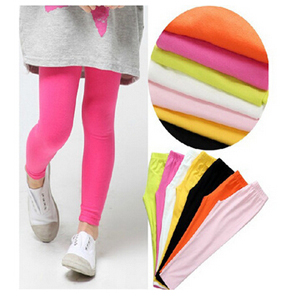 Childrens candy color modal leggings wholesale