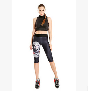 Monroe printed tanks war tall waist 7 points movement pant wholesale
