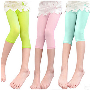 Cool white gauze joker pure color leggings wholesale