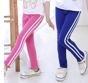 Classic casual sport children leggings wholesale