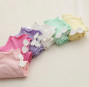 Two little flower girl candy color five point leggings wholesale