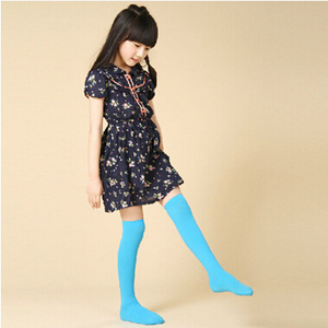 Girl children nude over-the-knee velvet stockings wholesale
