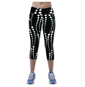 Dot women leggings 7 minutes pants wholesale