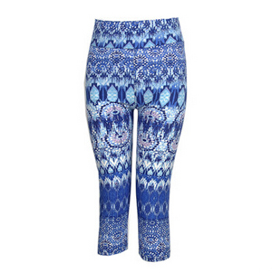 Vintage blue women 7 minutes pants wholesale