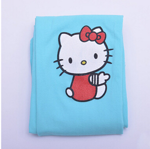 Girl children kitty pattern render pantyhose baby dance velvet socks wholesale