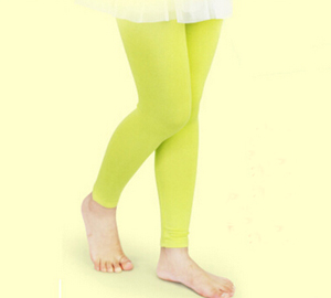 Velvet children pantyhose candy color nine points girls dancing sock wholesale