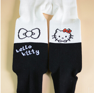 children cat rabbit splicing cotton leggings wholesale