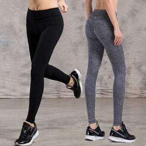 Female stretch tight bound feet movement yoga pants wholesale