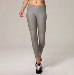 Stitching gauze breathable perspiration female pants wholesale