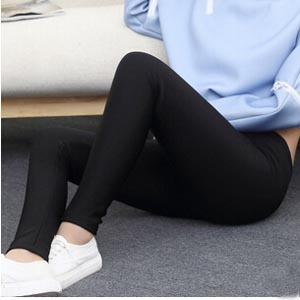 Female super gloss soft nylon pants feet pants wholesale