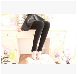 Warm palace carry buttock velvet female trample feet pants wholesale