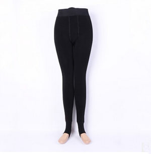 Winter thickening velvet show thin trample feet warm leggings wholesale