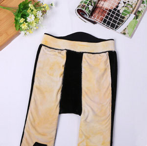 Knee waist support trample feet pants wholesale