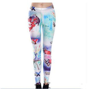 Pokemon game cartoon printed pants wholesale