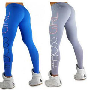 Cultivate GIRL printing sweatpants tight yoga pants wholesale