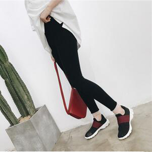 High-waisted cotton padded leggings wholesale