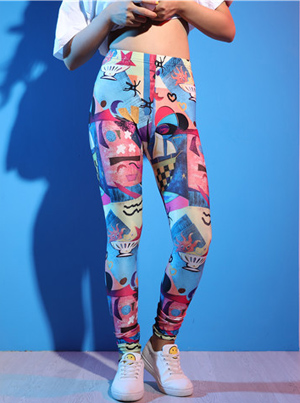 marine animal print leggings India leggings wholesale