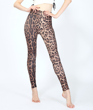 classic leopard print leggings hot sell