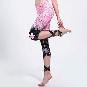 Digital printing binding yoga leggings