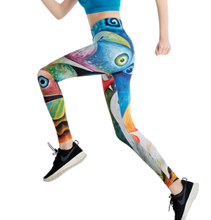 Wholesale digital printing yoga pants leggings