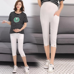 Summer thin section seven pregnant women pants