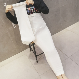 Increase the high-restraint maternity trousers