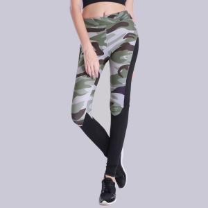 New camouflage color fitness yoga pants