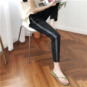 China wholesale thin section casual loose harem pants